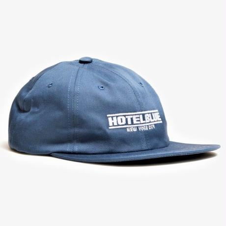HOTEL BLUE SPEED RACER EMBROIDERED CAP-SLATE