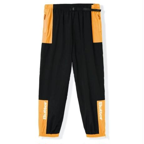 BUTTER GOODS SEARCH TRACK PANT-BLACK/PEACH