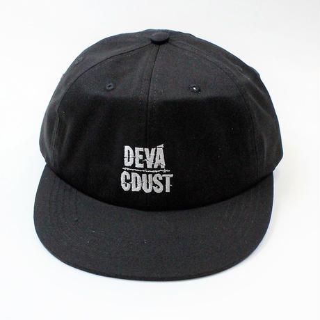 DEVA STATES STACKED CAP   BLACK