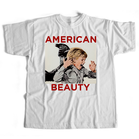 BOW3RY AMERICAN BEAUTY TEE WHITE