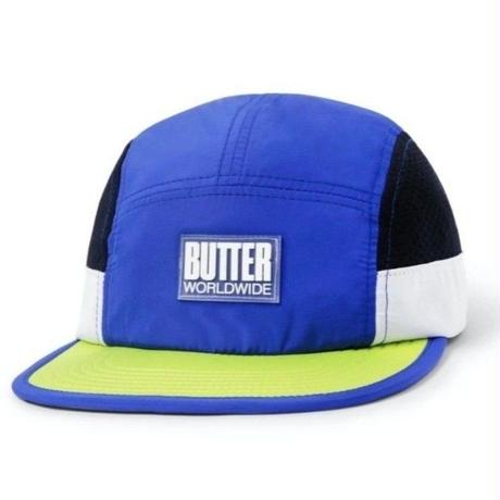 BUTTER GOODS MARATHIN CAMP CAP-ROYAL/LIME