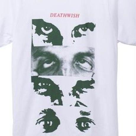 DEATHWISH MANY FACES TEE    WHITE
