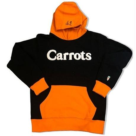 CARROTS WORDMARK HOODIE BLACK/ORANGE