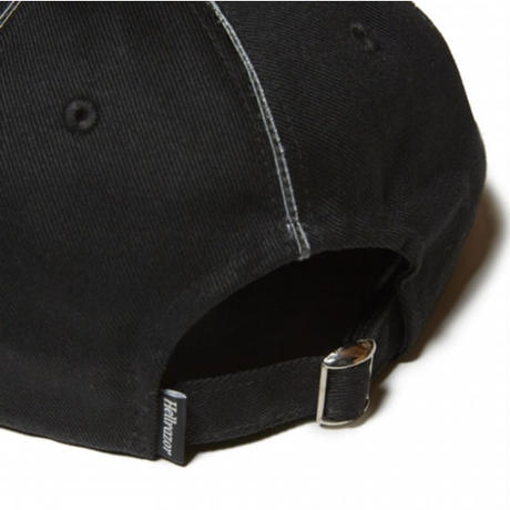 HELLRAZOR SUCKS PIPING 6PANEL CAP-BLACK