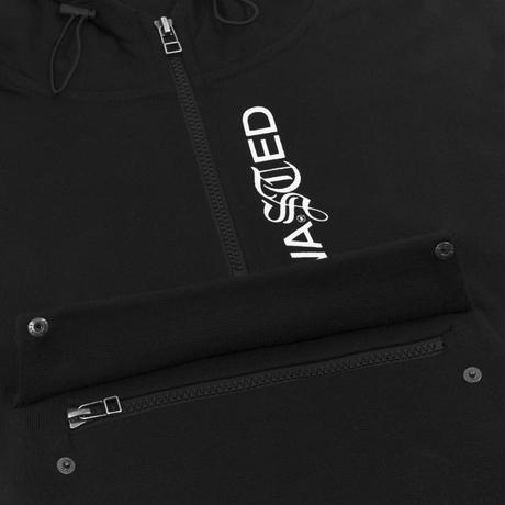 WASTED PARIS FACILITY HOODIEBLACK