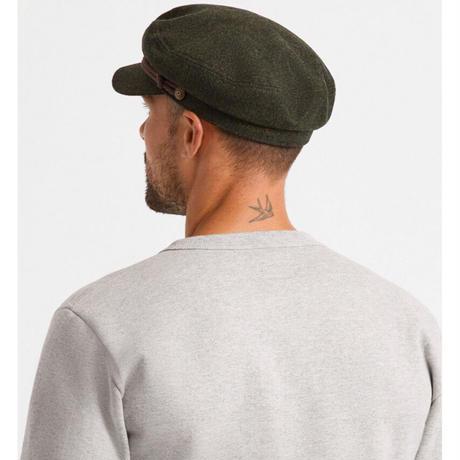 BRIXTON FIDDLER CAP-BLACK/DARKBRICK