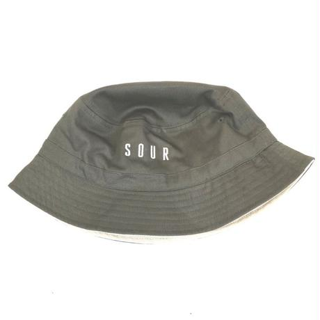 SOUR SOLUTION BUCKET HAT-M,GREEN