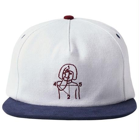 NUMBERS EDITION 12:45 ANGEL HAT 5-PANEL