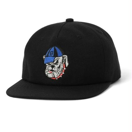 BUTTER GOODS BULLDOG SNAPBACK CAP-BLACK