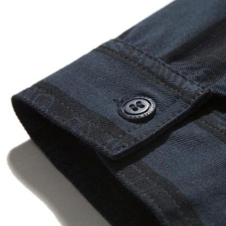 DEMARCOLAB D3L OVERDYED SHIRT JKT-Midnight