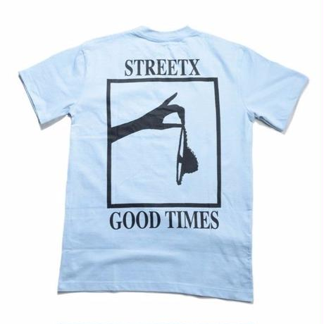 STREETX GOOD TIMES  TEE  POWDER BLUE