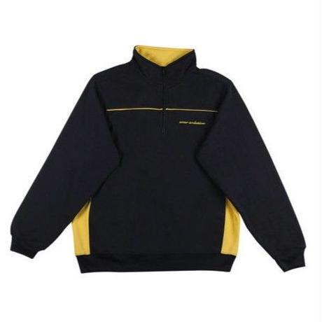 SOUR SOLUTION YOU GOT MAIL 1/4 ZIP-NAVY/YELLOW