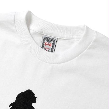 SAINTS&SINNERS  GHOST&GIRLS TEE-WHITE