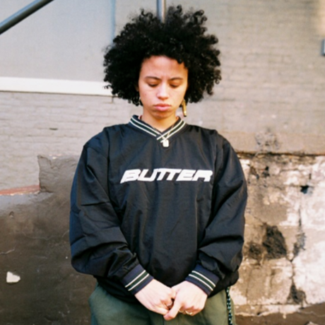 BUTTER GOODS DUGOUT PULLOVER-BLACK