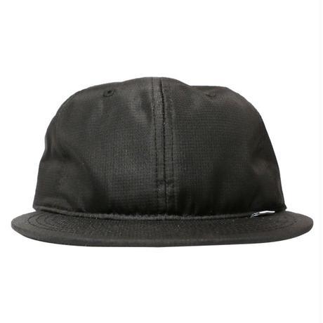 NYLON RIPSTOP CLUB HAT-BLACK