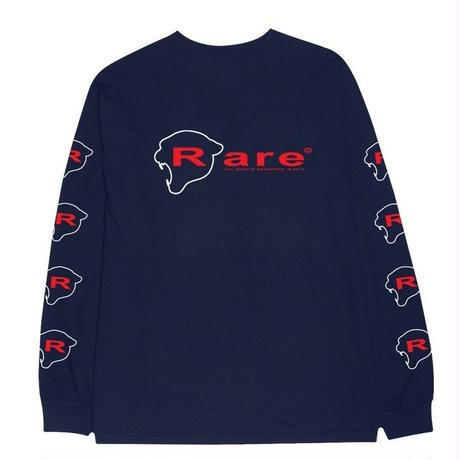 RARE PANTHER INDUSTRIES L/S TEE   NAVY