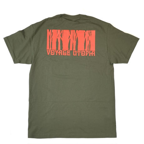 VOYAGE CRESTWOOD S/S TEE-M,GREEN