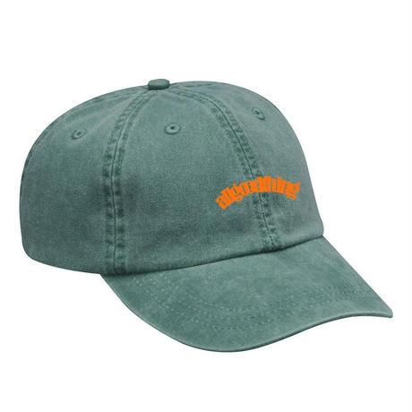 ALLGOODTHINGZ OG LOGO WASHED CAP-F,GREEN
