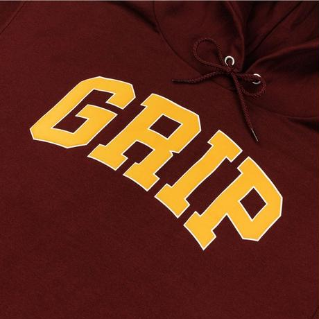 CLASSIC GRIP GRIP HOODIE WITH 90s PUFF PRINT-BURGUNDY