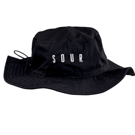 SOUR SOLUTION ABBE HAT BUCKET-BLACK