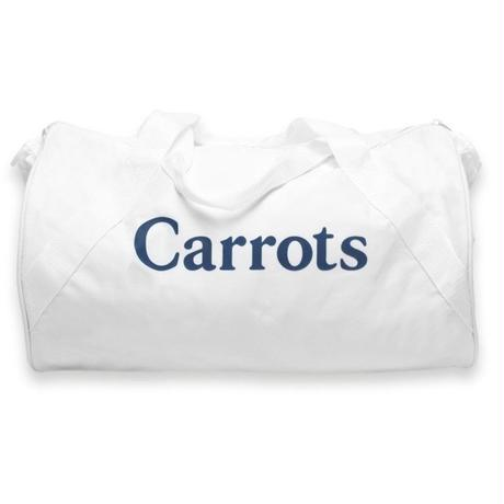 CARROTS LOGO DUFFLE BAG     WHITE