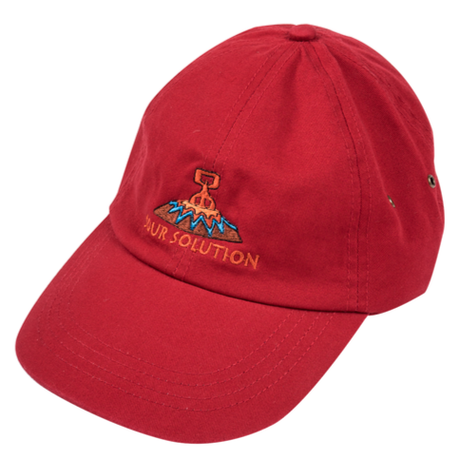 SOUR SOLUTION   VOLCANIC DAD CAP   RED