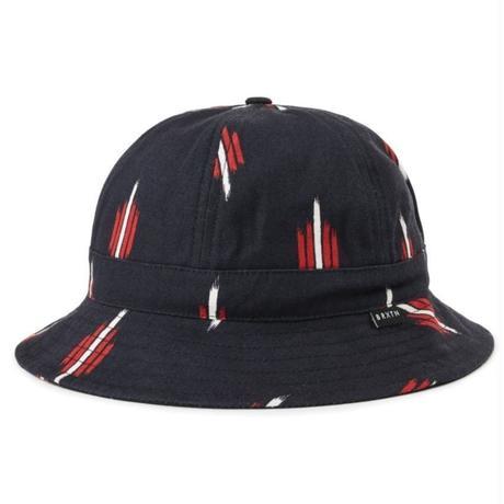 BRIXTON BANKS ⅡBUCKET HAT-BLACK/RED