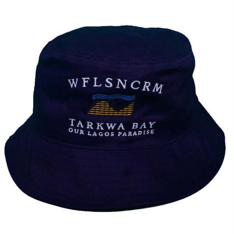 WAFFLESNCREAM TARKWA BAY HAT  NAVY
