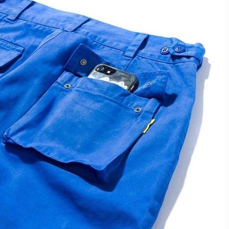 DEMARCOLAB OVER DYED MIL. PANT #2-BLUE