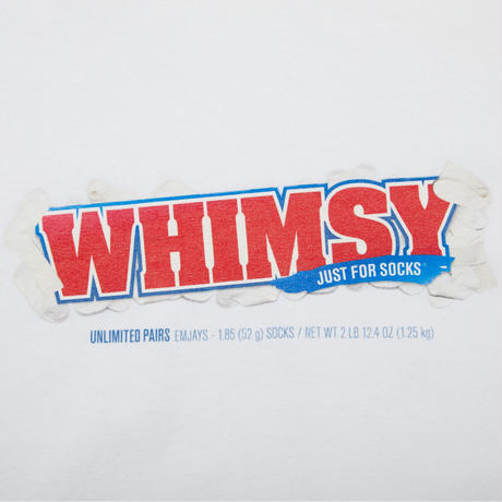 WHIMSY PAY DAY L/S TEE-WHITE