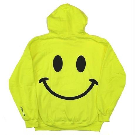 STRAYE SMILE HOODIE N,YELLOW