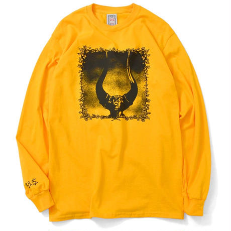 SAINTS&SINNERS FRIOUS ANGER L/S TEE-YELLOW
