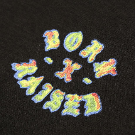 BORN X RAISED HEAT SEEKER L/S TEE BLACK