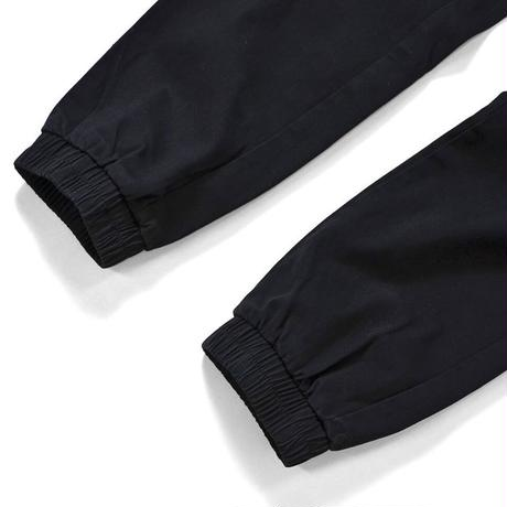 LAFAYETTE COTTON TACTICAL JOGGER PANTS-BLACK