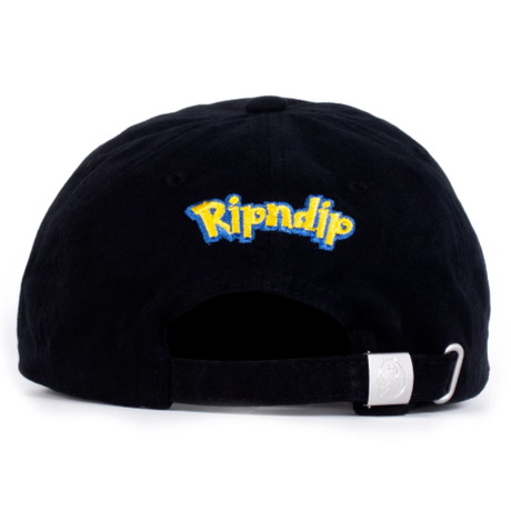 RIPNDIP CATCH EM ALL STRAPBACK-BLACK