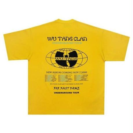 DON CARE WU-TANG CLAN TEE-YELLOW