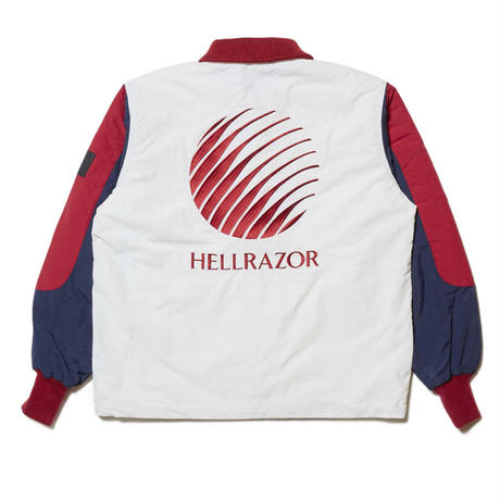 HELLRAZOR X FILA RUFF RIDE JACKET -WHITE