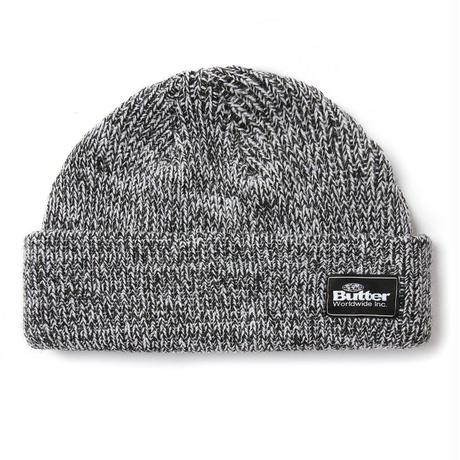 BUTTER GOODS EVEREST BEANIE-BLACK
