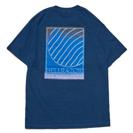 HELLRAZOR INDEPENDENCE POCKET TEE-HORBOR BLUE