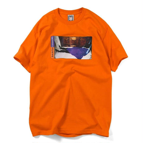 SAINTS&SINNERS  HEAVENS GATE TEE-ORANGE