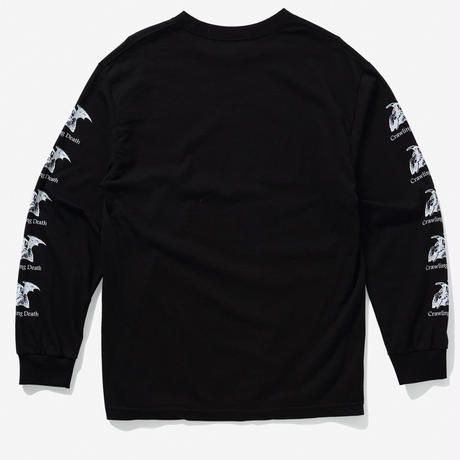 CRAWLING DEATH  LUCIFER L/S TEE    BLACK
