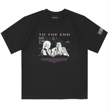 WASTED PARIS TO THE END TEE-BLACK