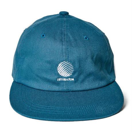 HELLRAZOR LOGO CANVAS 6PANEL-OLD BLUE