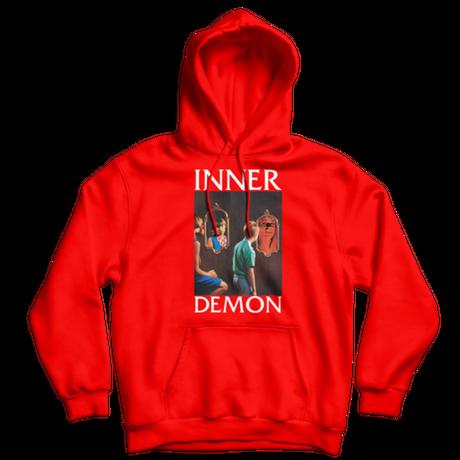 BOW3RY INNER DEMON P/O HOOD  RED