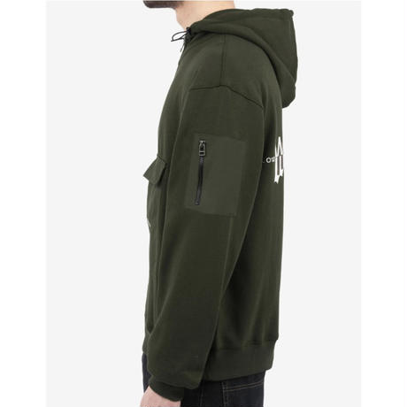 WASTED PARIS KILLING HOODIE-KHAKI