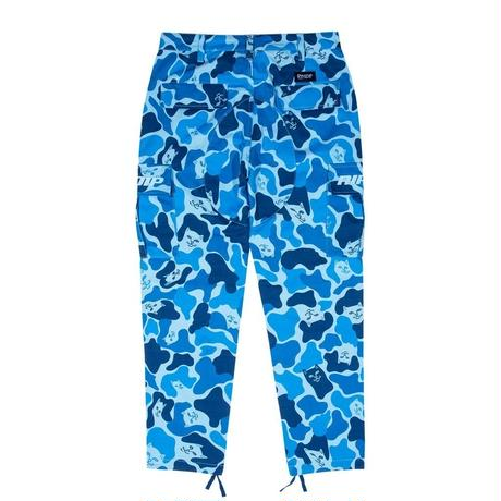 RIPNDIP SPLIT CARGO PANTS-MULTI