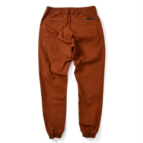 LAFAYETTE STRETCH JOGGER PANTS-ORANGE