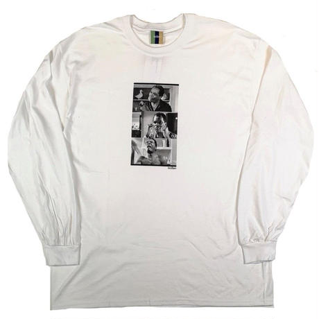 BEDLAM FRIDAY L/S TEE-WHITE