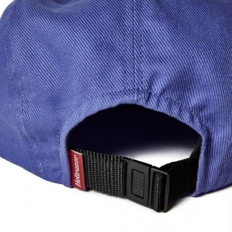 HELLRAZOR LOGO PATCH TWILL CAMP CAP-PURPLE