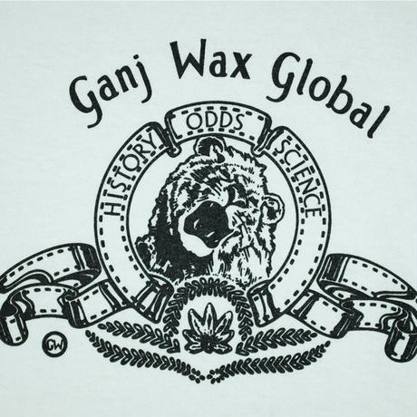GANJ WAX NUCLEAR GLOBAL TEE - WHITE